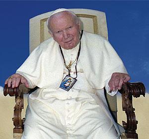 Papa Giovanni Paolo II e lo Scapolare del Carmelo